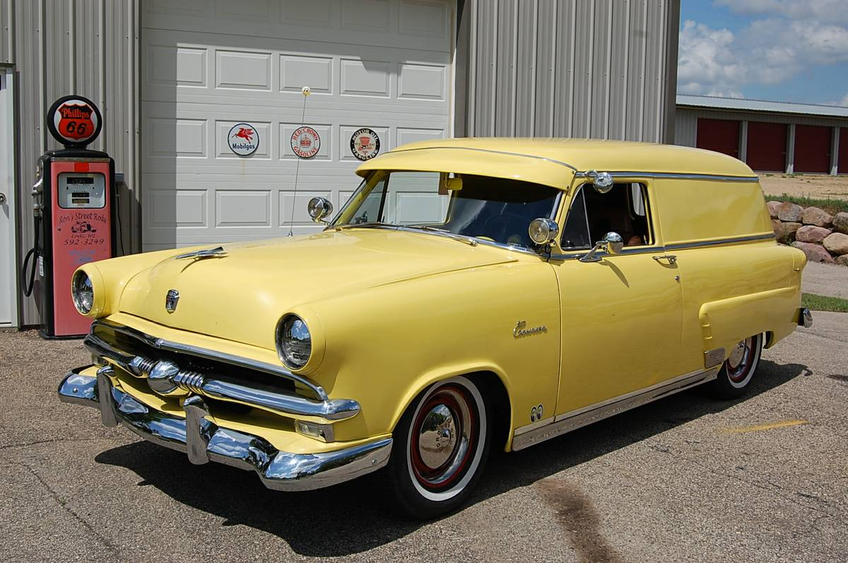 1953 Ford Courier Sedan Delivery For Sale in Lodi, WI - $9,800