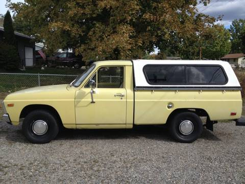 1975 Ford Courier Pickup w/ Camper For Sale in Post Falls ...