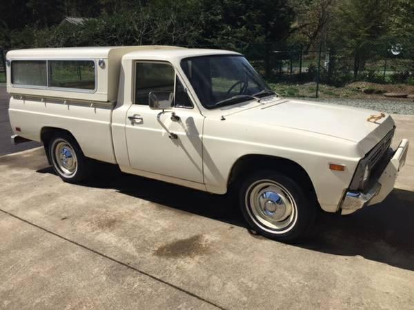1976 Ford Courier Pickup W/ Camper For Sale In Morton, WA
