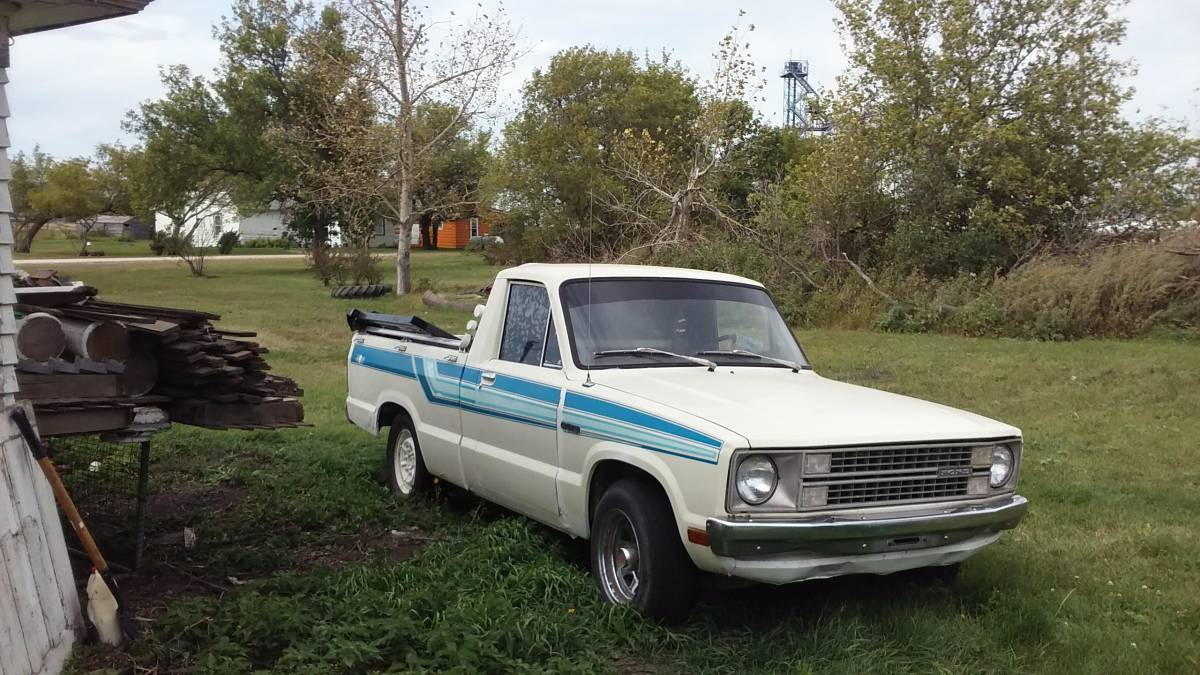 1980 ford courier pickup truck for sale in wales nd 900. Black Bedroom Furniture Sets. Home Design Ideas