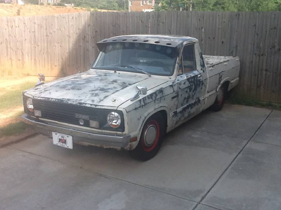 1980 ford courier rat rod truck for sale in loganville ga 3 750. Black Bedroom Furniture Sets. Home Design Ideas
