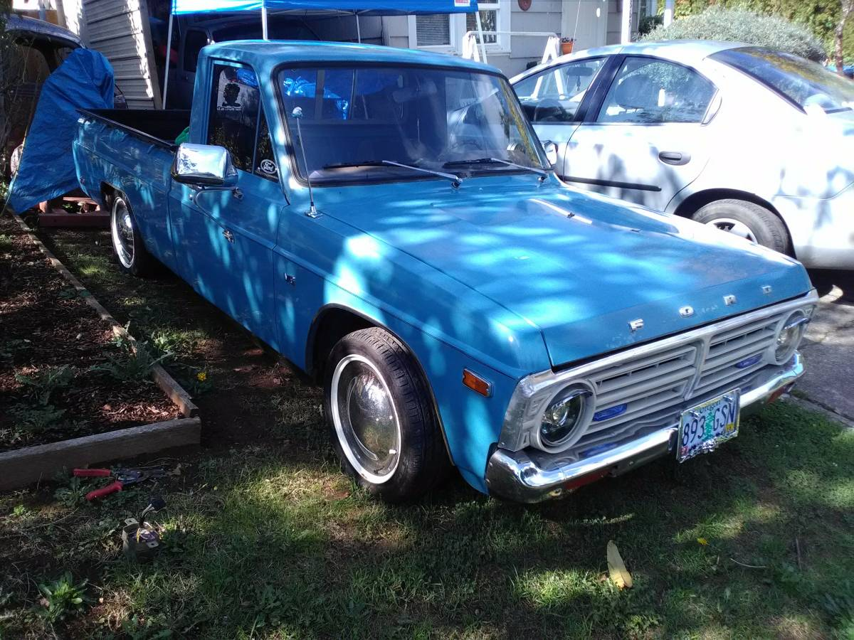 1976 Ford Courier Two Door Pickup For Sale In Salem Or