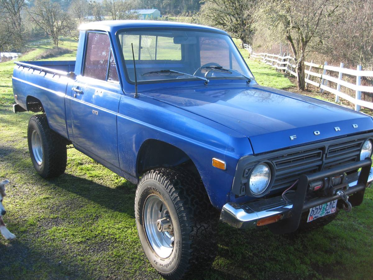 1976 Ford Courier 4x4 Pickup For Sale Cottage Grove Or 3800 1980 Interior Vintage 4wd Courierproject Runs Drivesbrand New Brakes All Around Has A Complete Parts Truck Also 380000 Obo Call Darin More Info Thanks